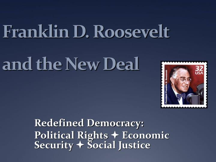 franklin delano roosevelt and the new Franklin d roosevelt was elected governor of new york in 1928 and served from 1 january 1929 until his election as president of us in 1932as governor of ny, roosevelt tackled official corruption, addressed the city's need for power through the development of hydroelectricity on the st lawrence river, reformed the state's prison.