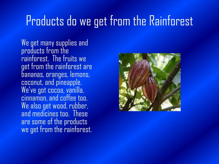 Ppt Poison Dart Frogs In The Rainforest Powerpoint