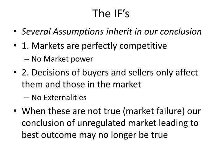 The IF's