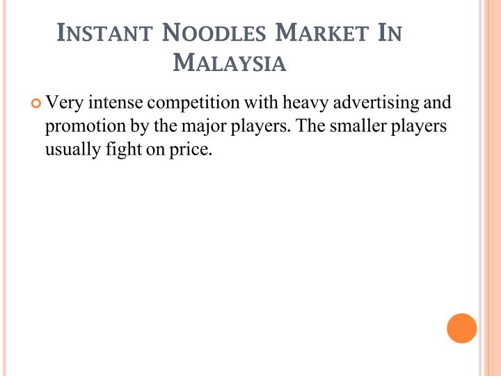 Instant Noodles Market In Malaysia