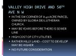 valley high drive and 50 th ave n w