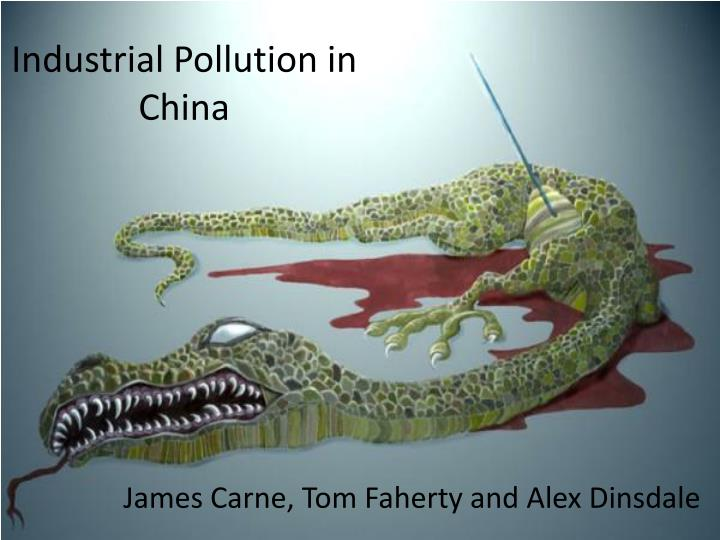industrial pollution in china n.