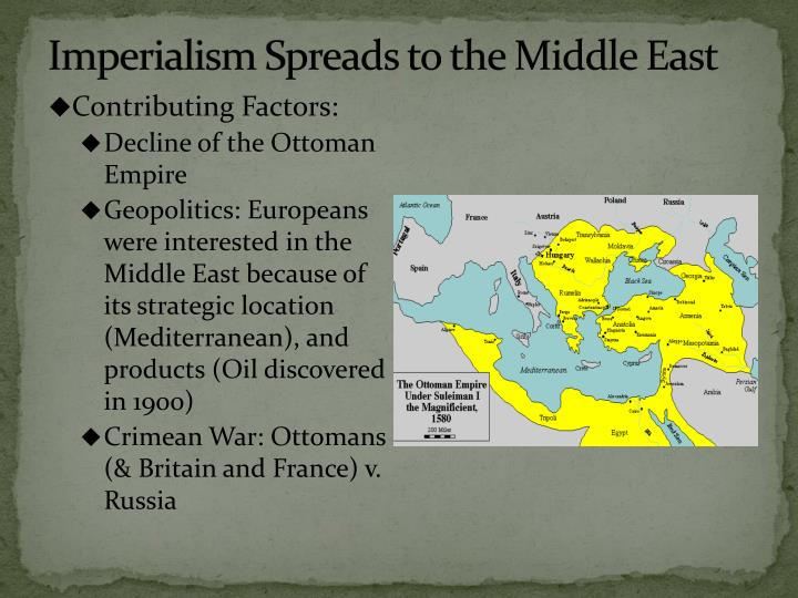 imperialism in the middle east