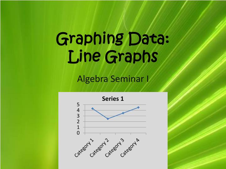 graphing data line graphs n.