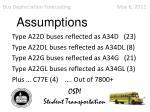 bus depreciation forecasting may 6 20116