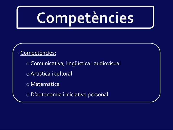 Competències