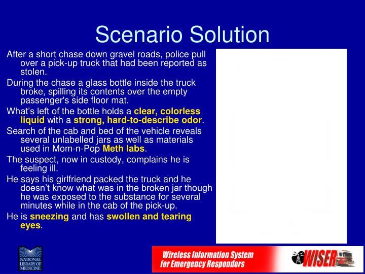 Scenario Solution