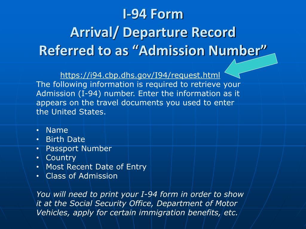 PPT - J-1 Exchange Visitor Orientation PowerPoint Presentation - ID