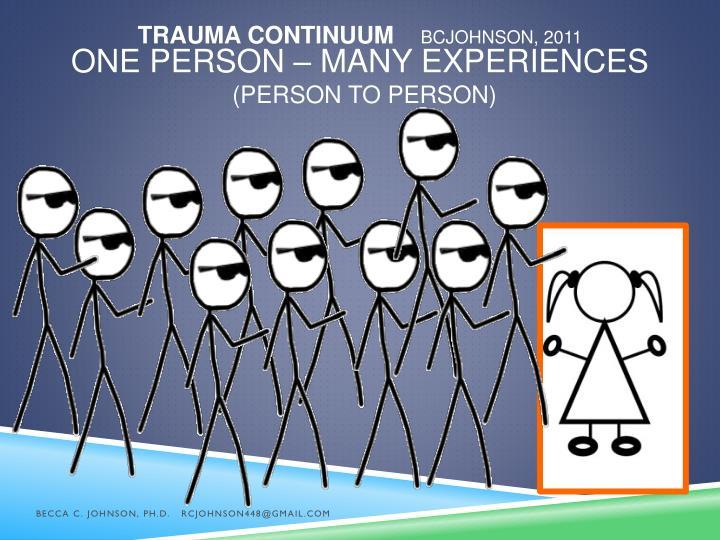 Trauma Continuum