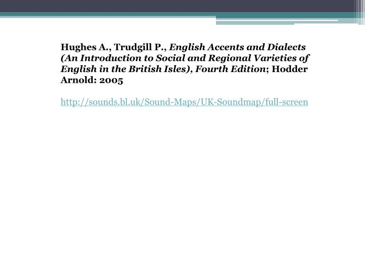 Hughes A.,