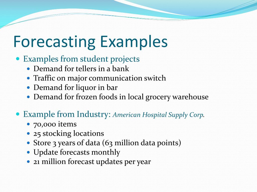 PPT - DEMAND FORECASTING PowerPoint Presentation - ID:1610787