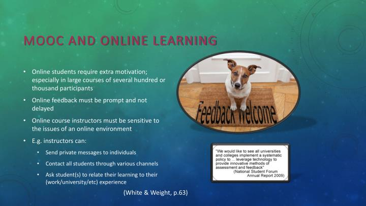MOOC and Online Learning
