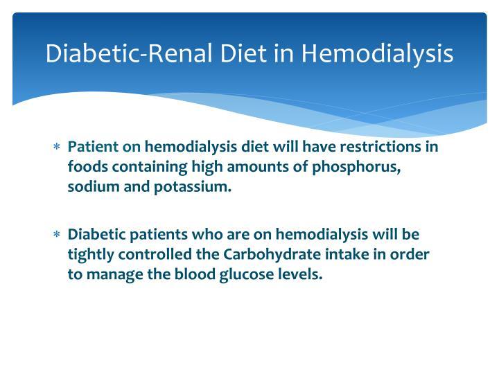 Diabetic-Renal Diet