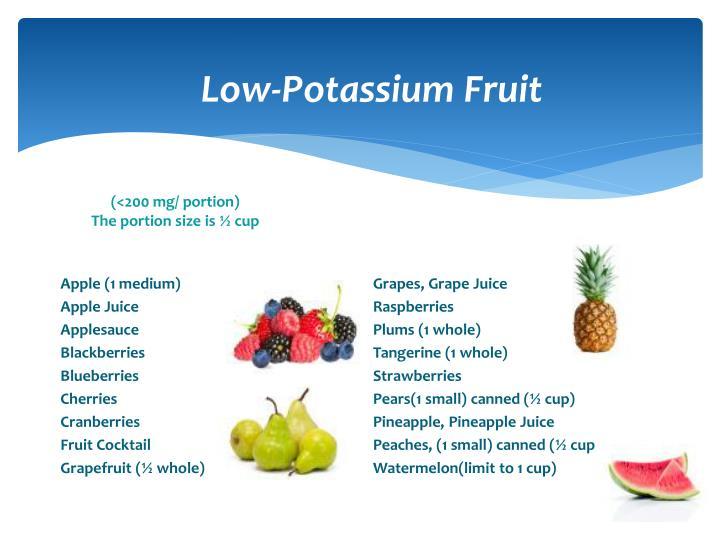 Low-Potassium