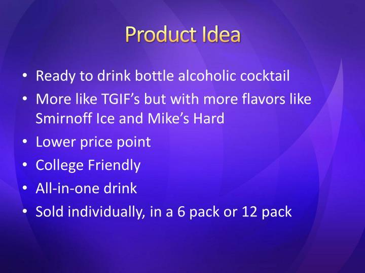 Product idea