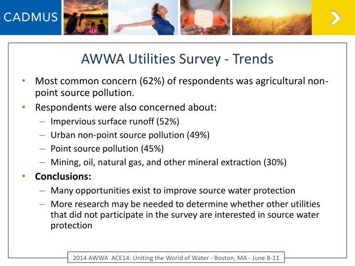 AWWA Utilities Survey - Trends