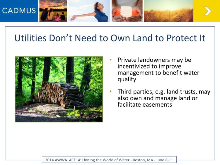 Utilities Don't Need to Own Land to Protect It