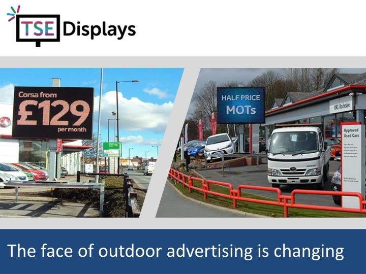 The face of outdoor advertising is changing