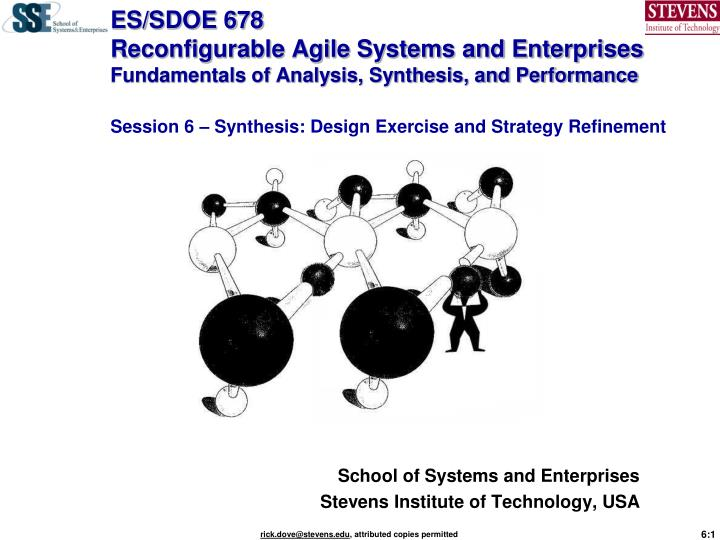 School of systems and enterprises stevens institute of technology usa