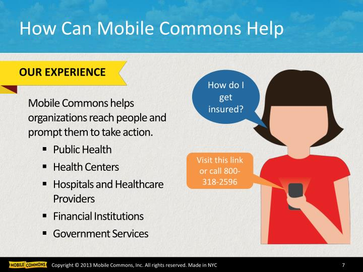 How Can Mobile Commons Help