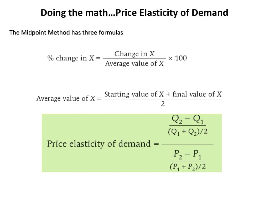 Ppt Elasticity Of Demand Chapter 6 114 122 Powerpoint Presentation Free Download Id 1611930