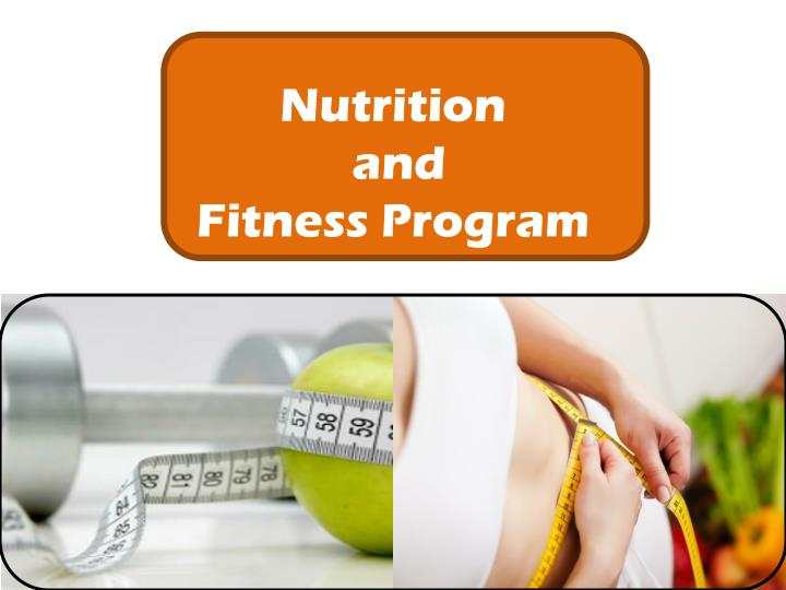 nutrition and fitness program n.
