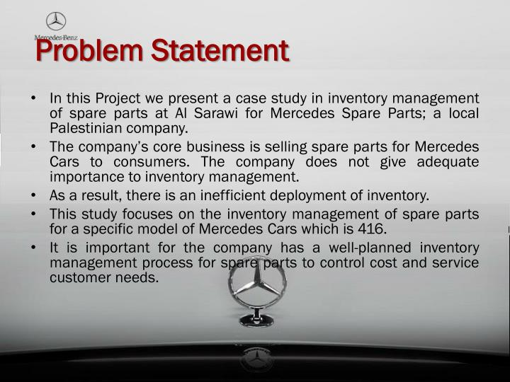 problems in inventory management case study View homework help - case-study-on-scientific-glass-inc-inventory-management from mba 1 at university of texas scientific glass, inc: inventory management canda.