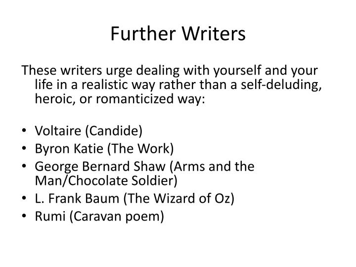Further writers