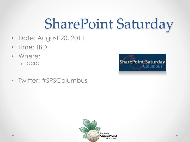SharePoint Saturday