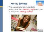 keys to success2