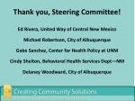 thank you steering committee3