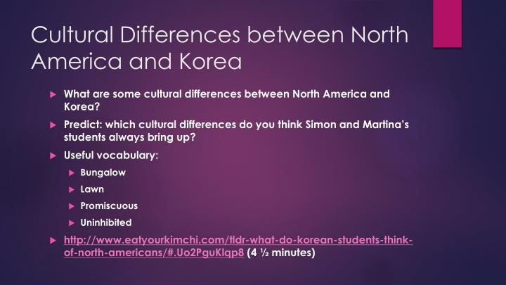 cultural differences between american and malaysian Understanding culture & cultural differences with our free online materials inc country guides, quizzes and business insight reports.