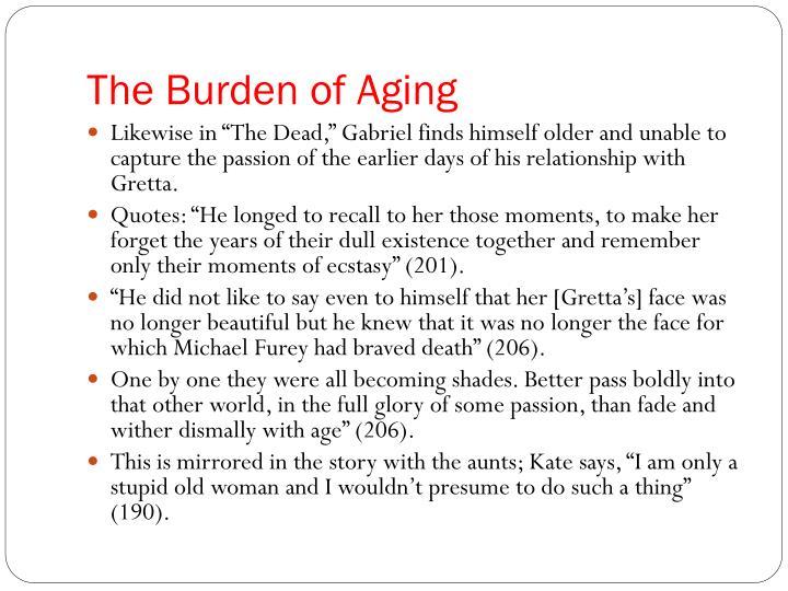 The Burden of Aging