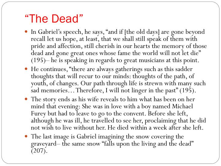 """""""The Dead"""""""