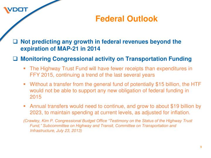 Federal Outlook