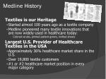 medline history