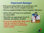 paperwork manager