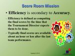 score room mission1