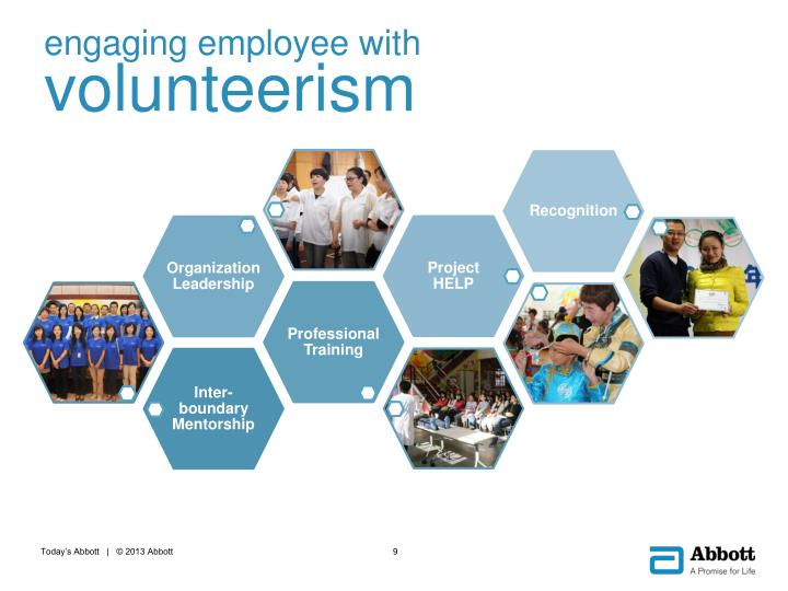 engaging employee with