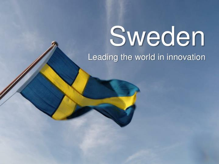 sweden leading the world in innovation n.