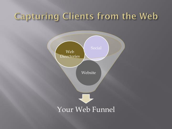 Capturing Clients from the Web