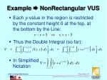 example nonrectangular vus2
