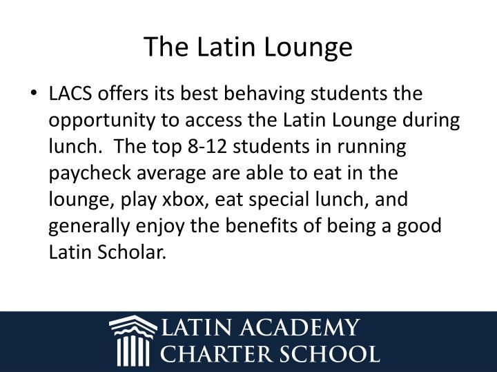 The Latin Lounge