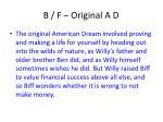 b f original a d