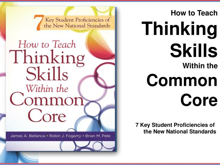 critical thinking in teaching english Teaching critical thinking skills english language teachers are trained to teach language skills, but they do not always learn how to teach the critical thinking skills that help guide learning.
