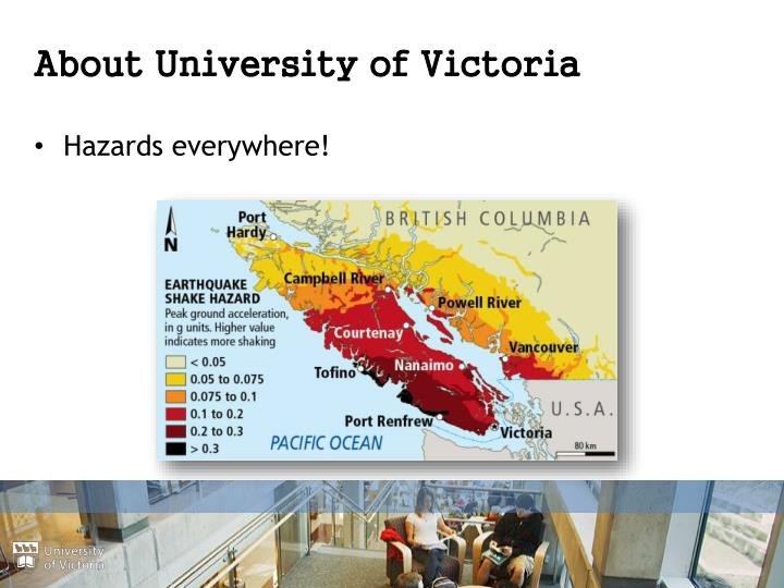 About University of Victoria