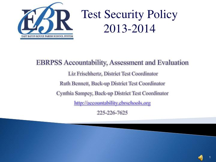 Test Security Policy