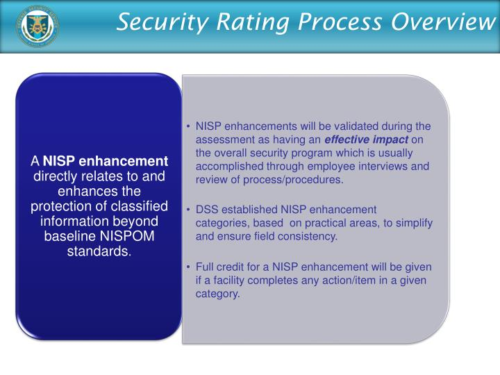 Security Rating Process Overview