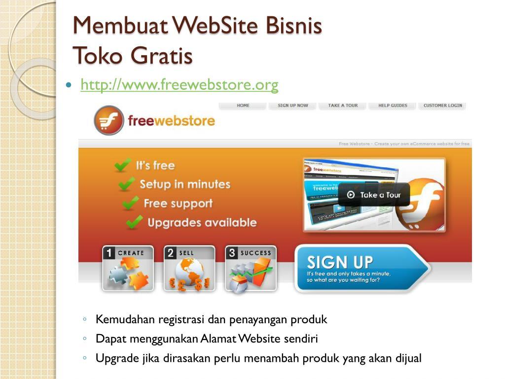 PPT - Bisnis Online Melalui Internet PowerPoint ...