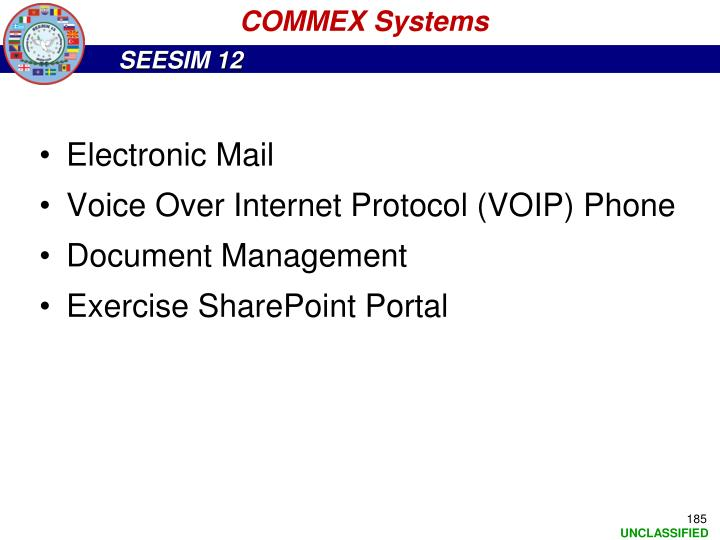 COMMEX Systems